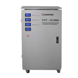 Трехфазный стабилизатор напряжения SUNTEK СНТ 30000 ВА / SE-30000/3